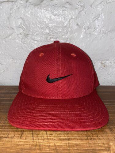 Vintage Nike Snapback Swoosh Red