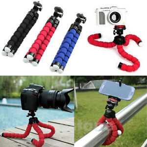 New-Flexible-Mini-Portable-Octopus-sponge-Tripod-Stand-amp-Holder-iPhone-Camera