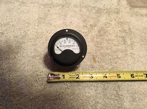 Vintage NOS Westinghouse  Panel Meter DC Microamperes Lot Me 4