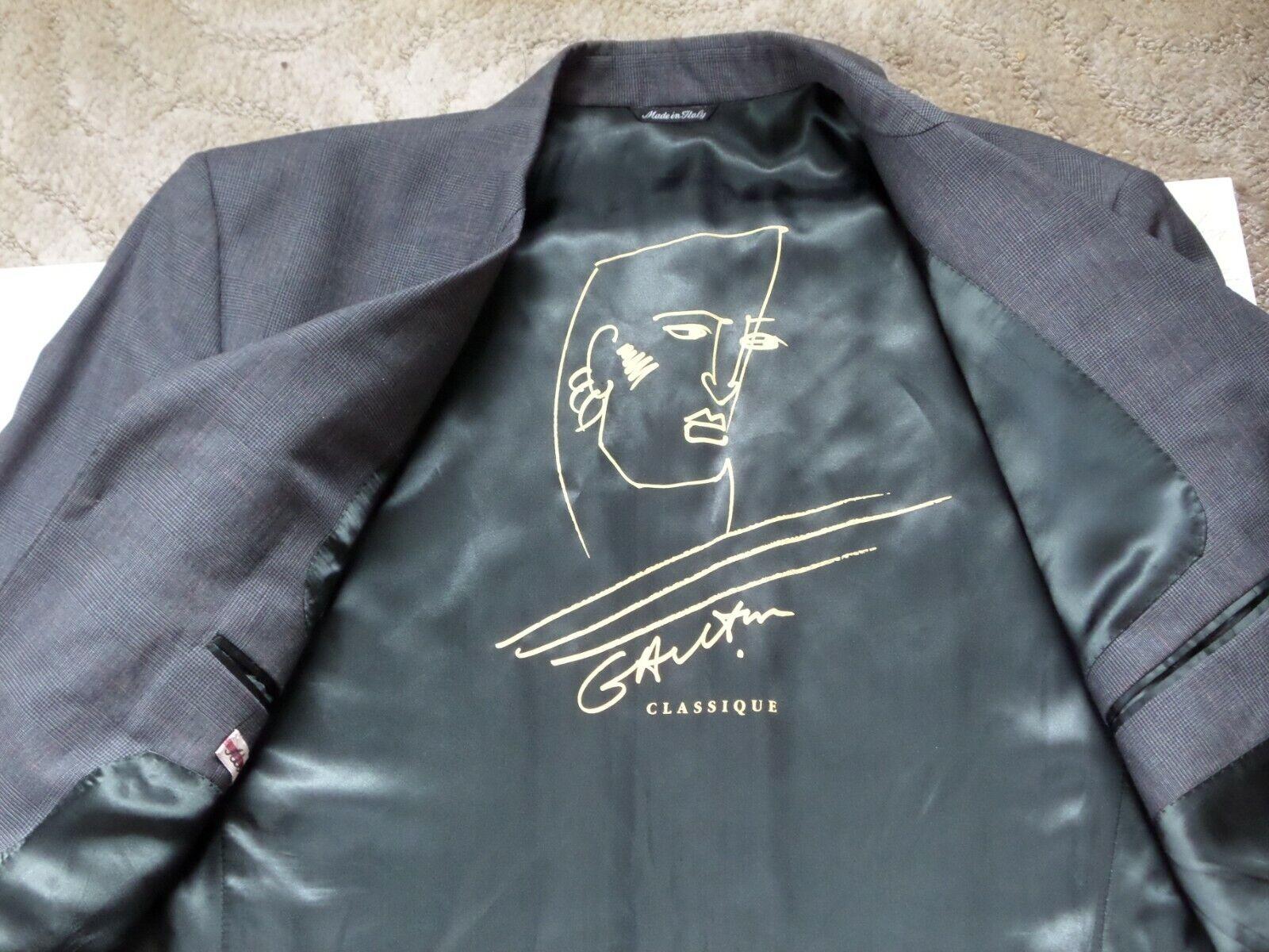 JEAN PAUL GAULTIER MODELL MODELL MODELL NO 101 grau Jacket Blazer,ska style mode 1c9