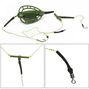 Carp Fishing Catfish Feeder Bait Cage with Lead Fishing Tackle Accessories UK
