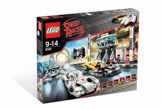 LEGO 8161 - Gre  Prix Race  vieni a scegliere il tuo stile sportivo