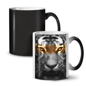Tiger Art Wild Cat NEW Colour Changing Tea Coffee Mug 11 oz | Wellcoda