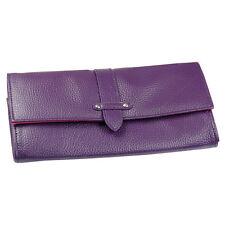 Boutique Designs - Purple Travel Wallet, Ladies Gift  NEW  17389