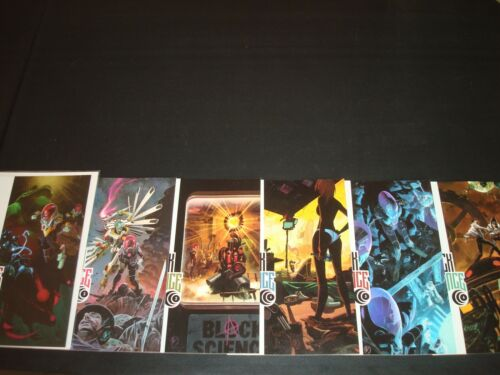 Black Science 1 2 3 4 5 6 Complete Comic Lot Run Set Remender Image Collection
