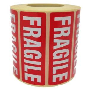 Fragile-Parcel-Labels-Postage-Stickers-89-x-32mm-Permanent-Self-Adhesive
