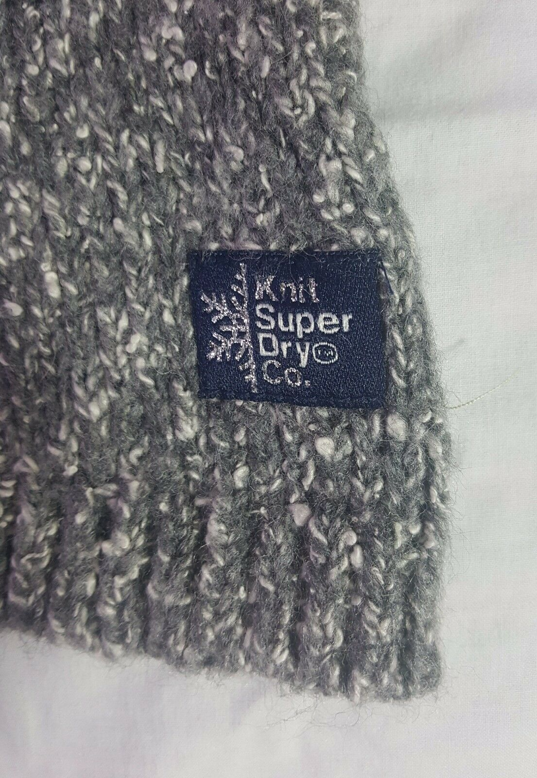 Superdry Knitted  Polar Bear Jumper  Size XS XS XS sweater sweatshirt winter cute f68502