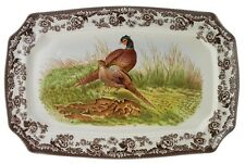 """Spode Woodland """"Pheasant""""  17.5in"""