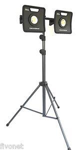 2x scangrip nova 5k c r akku cob led strahler mit stativ lampe flutlicht outdoor ebay. Black Bedroom Furniture Sets. Home Design Ideas