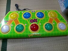 PS Pop'n Music Arcade Style Controller Sony PlayStation 1 2 Tested Work