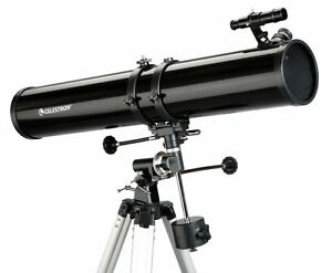 Celestron-PowerSeeker-114EQ-Reflector-Telescope-MPN-21045-CGL-inc-Barlow-Lens