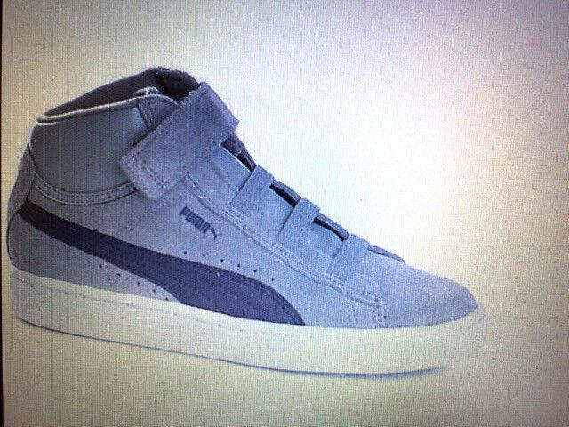 FW15 PUMA MID V KIDS SUEDE chaussures DA GINNASTICA GYM chaussures  BAMBINO 350454 09