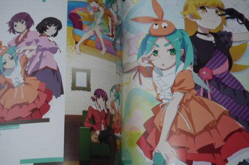 "JAPAN Monogatari series Heroine Book vol.8 /""Yotsugi Ononoki/"""