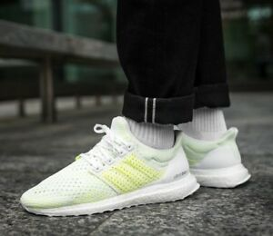 70c22be96 Image is loading MENS-ADIDAS-ORIGINALS-ULTRABOOST-CLIMA-WHITE-SOLAR-ULTRA-