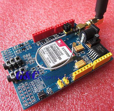 SIM900 V2.2 Wireless Module GSM GPRS Shield Arduino (with SIM card holder) M91