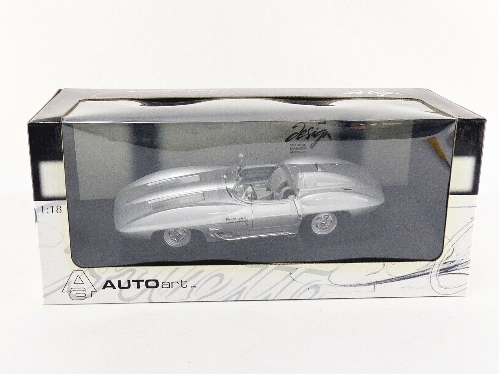 AUTOART 1/18 - CHEVROLET CORVETTE CONCEPT CAR 1959 - 71000