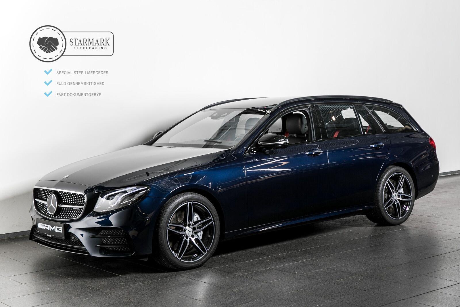Mercedes-Benz E43 3,0 AMG stc. aut. 4-M