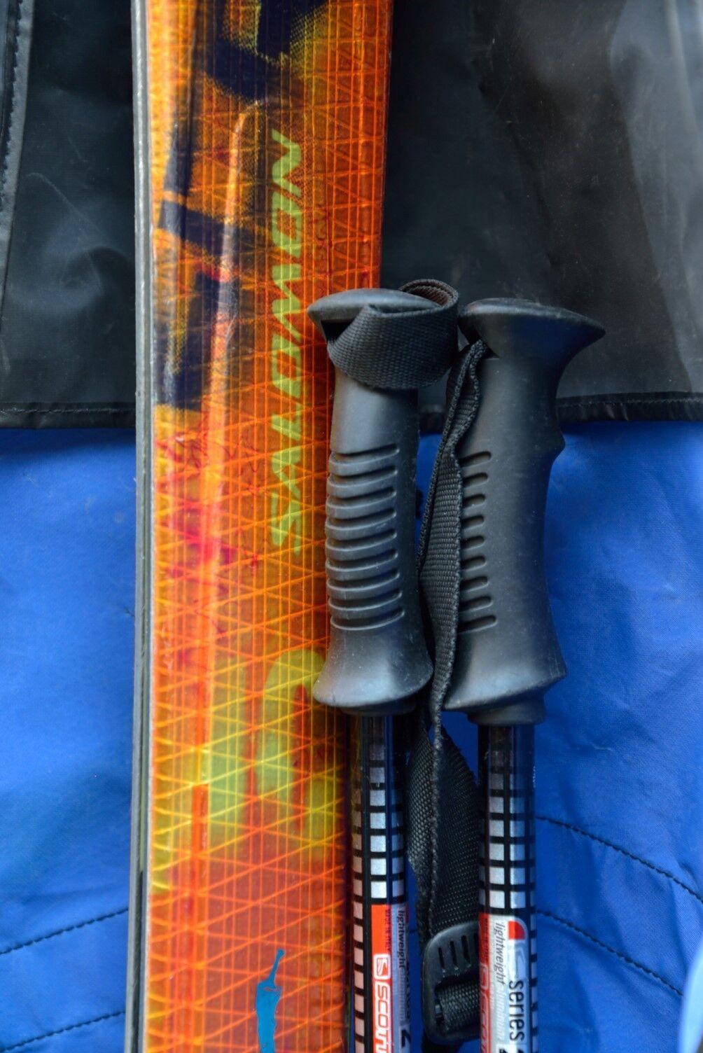 Salomon Scream  10 HOT Spaceframe 165cm Skis S912TI Bindings  cheap online