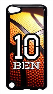 Personalized Number and name Basketball Case for iPod 4 5 5th Touch Generation