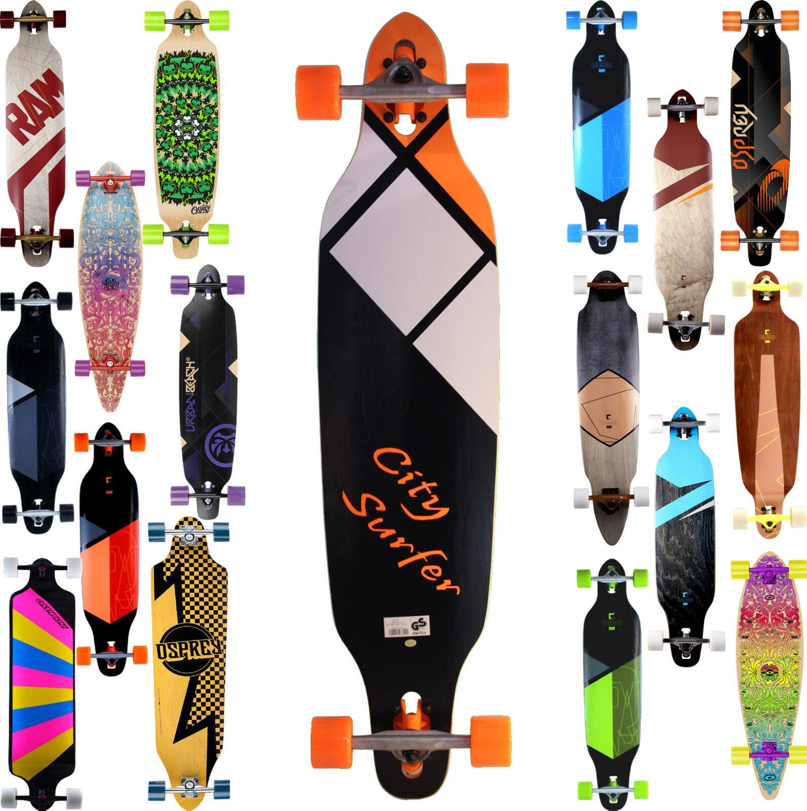 Komplett Longboard von SPARTAN  oder No No No Rules Skateboard - Modell 2017 Neu cc7721