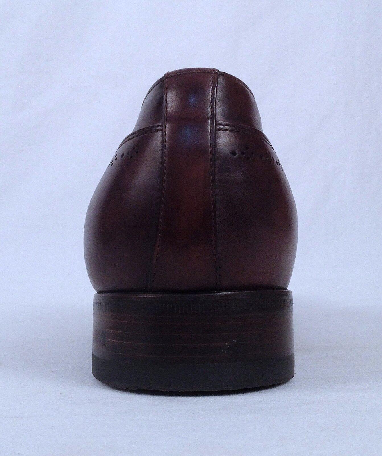 Santoni Medallion Cap Größe Toe Oxford- braun Calf- Größe Cap 11 D  798 (TB4) 96cbf3