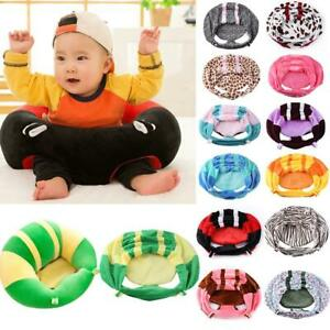 Portable-Infants-Baby-Support-Seat-Sit-Up-Soft-Short-Plush-Chair-Cushion-Cover