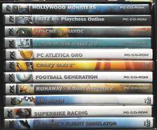 Cofanetto 10 giochi PC FX interactive da collezione editoriale Gazzetta Usato
