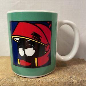 Vintage 12 oz Marvin the Martian Mug 1991 Warner Bros Coffee Cup Looney Tunes