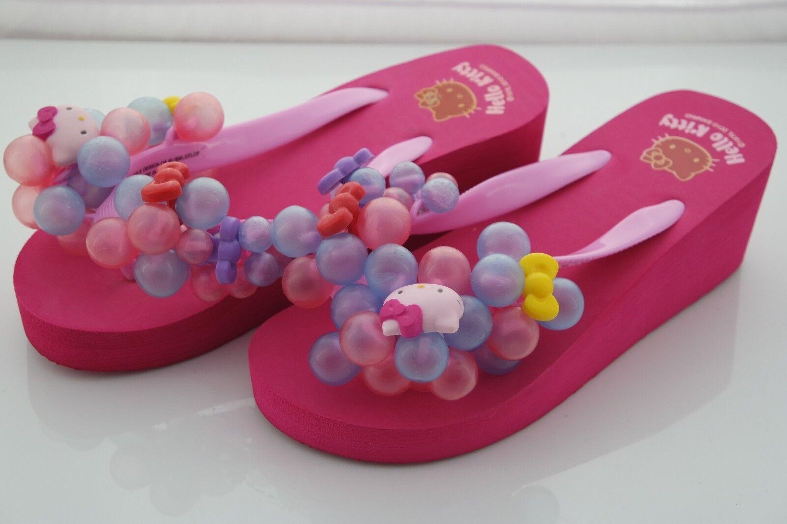Adorable Adorable Adorable Hello Kitty Burbuja Flop Sandal Original 1 Mujer Zapatilla rosado  aquí tiene la última