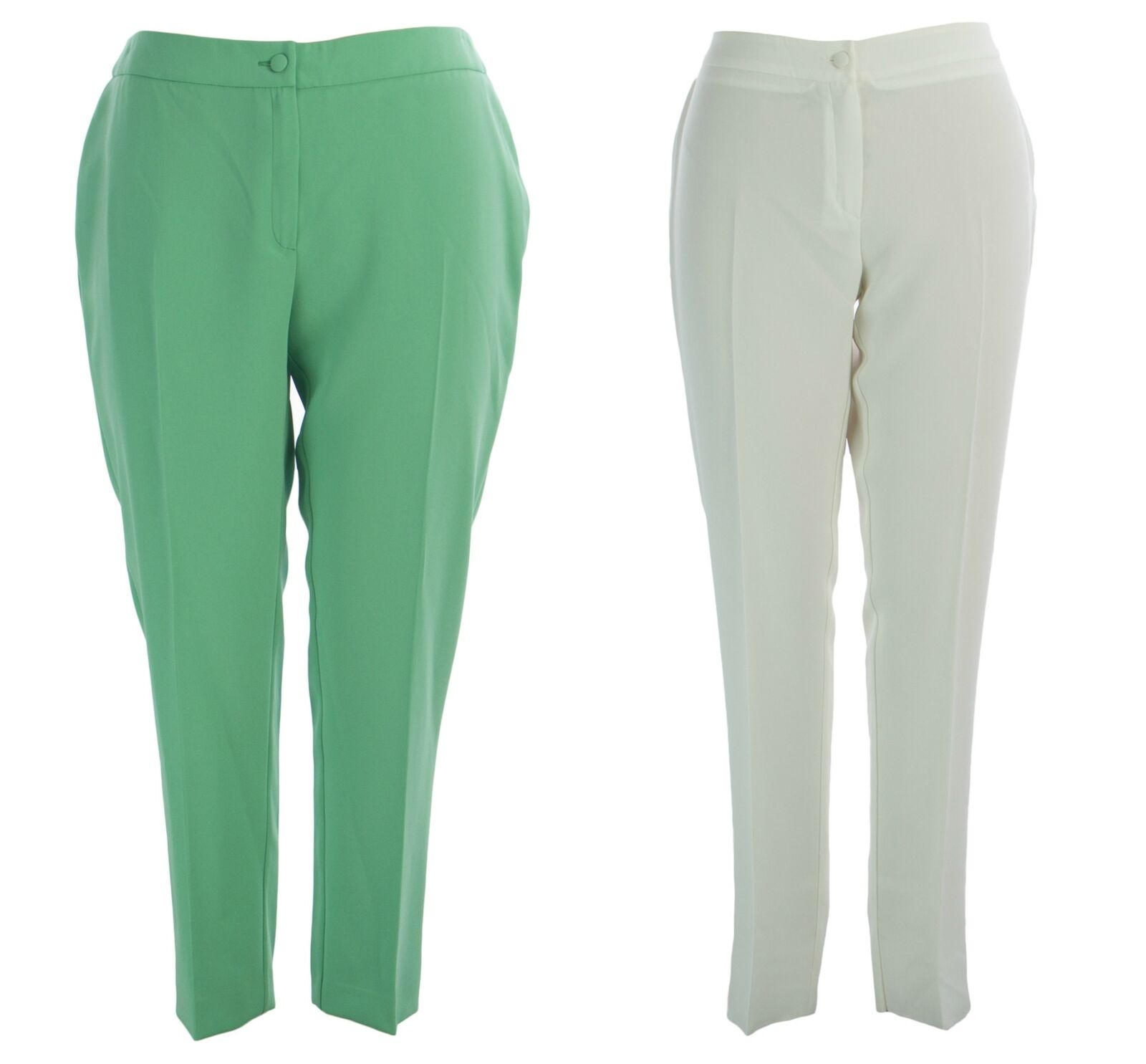 MARINA RINALDI Womens Revival Straight Leg Dress Pants  435 NWT