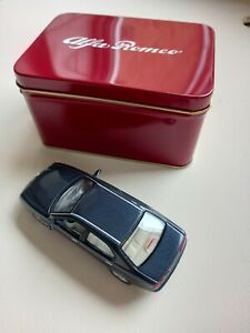 Alfa Romeo 166 *Dark Grey* 1:43 Diecast Model Car New  Genuine Alfa by Solido