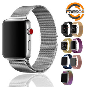Stainless-Steel-Loop-Band-Strap-For-Apple-watch-Series-1-2-3-4-38-42-40-44-mm