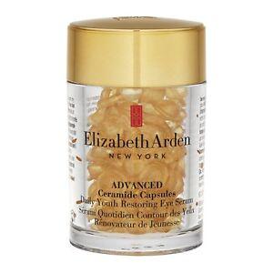 60pcs-Elizabeth-Arden-Ceramide-Advanced-Capsules-Daily-Youth-Restoring-Eye-Serum