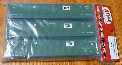 Atlas HO #20003008 CIMC 53' Cargo Container 3-Pack - Master(R) -- TMX Set  #1 | eBay