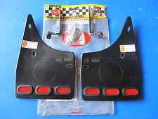 Jeu de bavettes arrière avec catadioptres R-B pour Seat Ibiza 05/93-