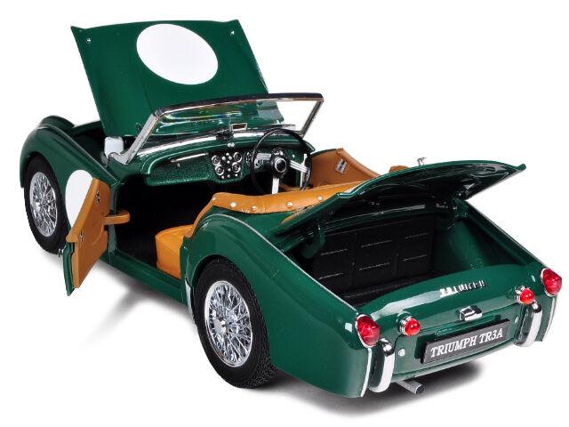 1958 Triumph GREEN 1 18 Kyosho 8032