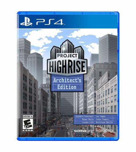 Project Highrise Architects Edition Sony PS4 Playstation 4 Skyscraper Sim Game