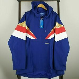 Adidas Originals Men's Fontanka Jacket Blue Red Gold White CX4752 Size M $140 191034655844 | eBay