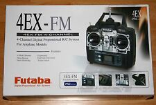 New Futaba 4EX-FM 4 Channel Digital Proportional - FM 40MHz with 3 servos
