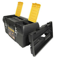 Stanley Series 2000 Toolbox W/tray Two Lid Compartments 019151m on sale