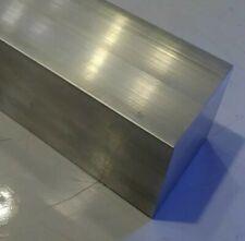 1 Pc 2 X 2 X 4 Long New 6061 T6511 Solid Aluminum Stock Plate Flat Bar Block