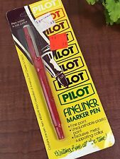 Vtg 1980's PILOT Fineliner Marker Pen SEALED
