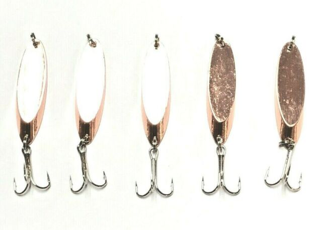10 Kastmaster Style Silver Spoon 3//4 Ounce Great for Trout /& Bass for sale online