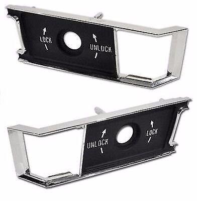 68-77 CORVETTE Door Panel Lock Insert (Both Left & Right Side)