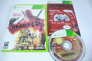 Deadpool-Microsoft-Xbox-360-2013-Marvel-High-Moon-Activision-Ryan-Complete