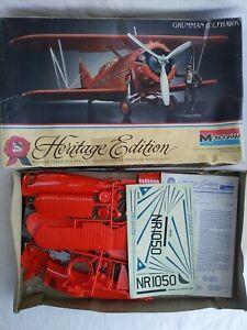 1983-MONOGRAM-6053-GRUMMAN-GULFHAWK-HERITAGE-EDITION-1-32-SCALE-MODEL-KIT