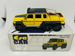 Era Car 1:64 Mercedes Benz G63 AMG 6X6 Spotlight Yellow