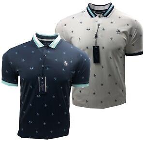 Original-Penguin-RE-Pete-Graphic-Golf-Polo-Shirt-RRP-69-99-ALL-Sizes