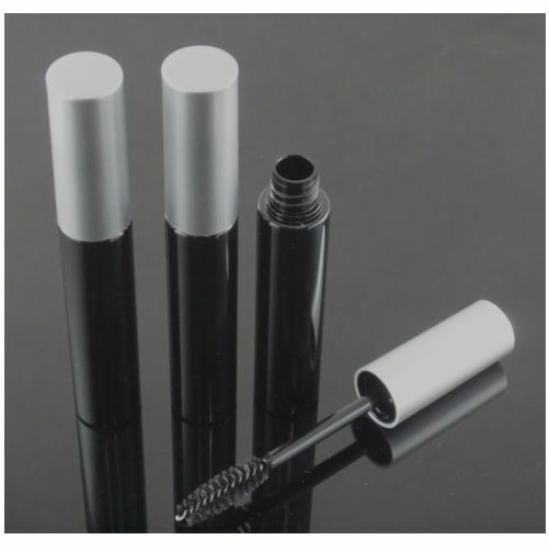 50Pcs 10ML Empty Mascara Tube Eyelash Cream Vial/Bottle/Container Black Cap