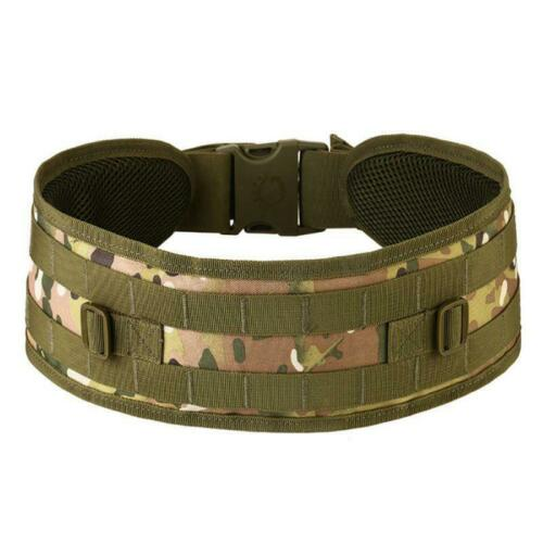 Tactical Military Army Airsoft Hunting Molle Combat Waist Padded Duty Belt Strap